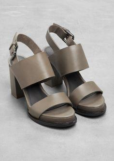 Block Heel Sandals   Block Heel Sandals   & Other Stories
