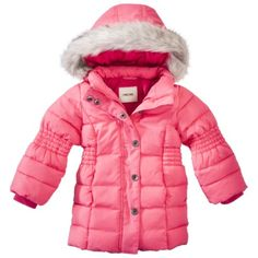 She will definitely need one of these for the very cold Arkansas months. Any color is fine (except orange)