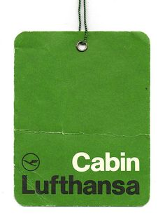 Great design has function and this Lufthansa Airlines label, meets that mark. To this day I can't recall a more elegant, simple label. The use of Helvetica is absolutely beautiful. The design of this label is credited to Otl Aicher. Identity Design, Visual Identity, Typography Design, Logo Design, Type Design, Otl Aicher, Vintage Type, Grafik Design, Bon Voyage