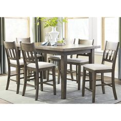Found it at Wayfair - Nelumbo Counter Height Dining Table
