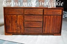this sideboard is made up of Sheesham wood. the front is made up from 3 cm thickness wood & remaining with 1.5 cm thickness. You can find more offers like this on www.karinameble.pl