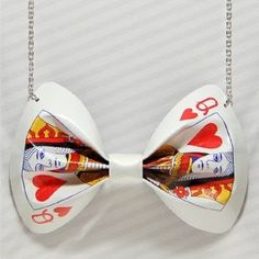 Queen of hearts could even make it a hair bow. Alice in wonderland