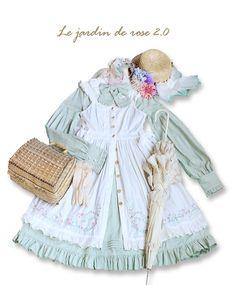 Cheap Online Shopping, Online Dress Shopping, Harajuku Fashion, Lolita Fashion, Cute Fashion, Fashion Outfits, Gothic Lolita Dress, Daily Wear, Rose