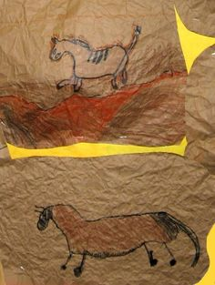 Lesson Plan: Prehistoric Rock Drawings