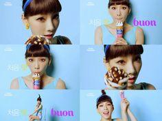 Taeyeon Sweet Wallpaper