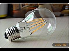 Energy saving with LED Filament Bulbs Comparison with Edison Incandescent  www.amazon.com/dp/B018SLRR1M