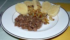 Dumplings, Tacos, Pizza, Mexican, Beef, Ethnic Recipes, Food, Meat, Essen
