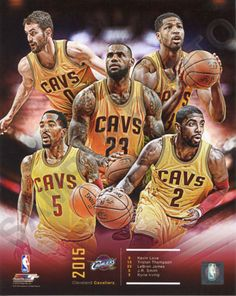 2015-2016 CLEVELAND CAVS NBA CHAMPIONS 2016 COMPOSITE 8X10 TEAM PHOTO - Free Shipping Premium Quality 8x10 Color Photograph Professionally Produced in State-of-the-Art Photographic Lab Uniquely Number
