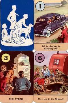 Vintage Famous Five Books Card Game Famous Five Books, The Famous Five, Enid Blyton Books, Fantasy Tattoos, Vintage Games, Childhood Toys, Best Memories, Card Games, Club