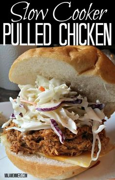 Best Ever Slow Cooker Pulled Chicken Recipe