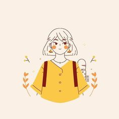 Been super busy so I have not been updating much 👀 you can take a peek of WIPs on my story. How is October going for you? A piece… Girls Cartoon Art, Character Design, Character Illustration, Girly Art, Illustration Art Girl, Art Drawings, Illustration Character Design, Cute Art, Cute Drawings