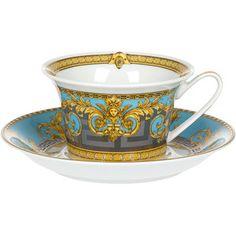 Versace Prestige Gala Cup & Saucer 4 Low - Gala Le Bleu