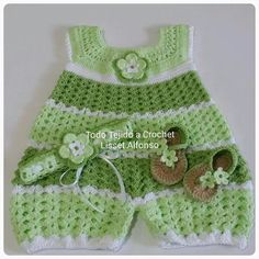 Crochet Baby Boy Romper Outfit 26 Best I - Diy Crafts Crochet Romper, Baby Girl Crochet, Crochet Baby Clothes, Crochet For Boys, Baby Blanket Crochet, Crochet Lace, Baby Dress Patterns, Baby Knitting Patterns, Romper Outfit