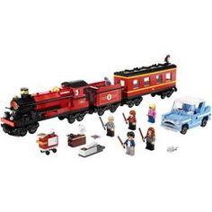 Shop LEGO® Harry Potter Hogwarts Express - 4841 with Storage Bag for storing your Lego®. Lego Harry Potter, Harry Potter World, Harry Potter Hogwarts, Lego Hogwarts, Hogwarts Train, Legos, Lego Clones, Lego Pictures, Lego Trains