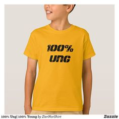 100% Ung| 100% Young T-Shirt cool trendy unique t-shirt fashion design Young T, Shirt Style, Fitness Models, Mens Fashion, Casual, Unique, Sleeves, How To Wear, T Shirt