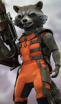 Marvel Comics Cosplay -- Guardians of the Galaxy - Rocket Raccoon Cosplay Costume Version 01