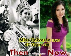Almost half a century after Thai beauty queen Apsara Hongsakula was crowned Miss Universe, she is back in the news for her astonishingly youthful looks. The 67-year-old doesn't appear a day over 35