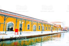 Perspective View Of Konak Pier royalty-free stock photo