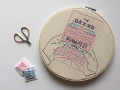 The Grand Budapest Hotel // Wes Anderson // 8 by threadhoney Cute Embroidery, Cross Stitch Embroidery, Embroidery Patterns, Embroidery Hoops, Grand Budapest Hotel, Grand Hotel, Wes Anderson, Embroidery Techniques, Textiles