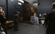 National Gallery - Examining Portrait of Frederick Rihel on Horseback by Rembrandt