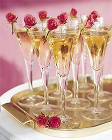 How best to inspire a festive mood? Simply let the Champagne bubbles fly. The fizz that tickles the nose and spirit is traditional for the wedding toast, synonymous with celebration. Beyond that, Champagne is optional, though no less fun.