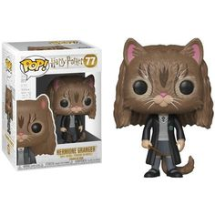 Funko Hermione Granger as Cat, Harry Potter, Hogwarts, Potterhead, Funkomania Harry Potter Hermione Granger, Harry Potter Humor, Harry Potter Quidditch, Ron Weasley, Harry And Hermione Fanfiction, Cadeau Harry Potter, Harry Potter Facts, Harry Potter Movies, Funko Pop Harry Potter
