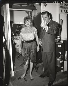 Lucille Ball and Desi Arnaz (36) black & white camera negatives from I Love Lucy. Collection of (28) black & white 4 x 5 in. camera negatives and (8) glossy proof prints of Lucille Ball and Desi Arnaz from I Love Lucy; with KODAK-SAFETY etched and episode sequence in india ink on the border. From episode #150, Lucy's Italian Movie which first aired March 22, 1956.