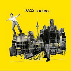 record cover design for our Dazz & Keko project. More infos here: http://dazz-keko.bandcamp.com/