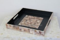 PC5500-mother of pearl shell tray