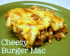 cheesy burger mac