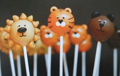Animal cake pops #animal #cakepops #cake