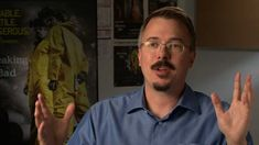 "Vince Gilligan on pitching ""Breaking Bad"" Vince Gilligan, Creative Video, Screenwriting, Breaking Bad, Pitch, Filmmaking, Writer, Interview, Tv Shows"