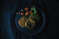 Quinoa and Lentil patties (vegan)  greensofie.com Lentil Patty, Lentils, Quinoa, Herbs, Vegan, Recipes, Food, Lenses, Essen