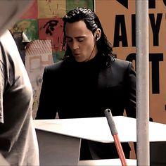I wonder what kind of music Loki's listening to?
