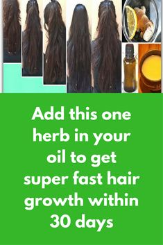 Add this one herb in your oil to get super fast hair growth within 30 days This herb is used since ancient times to cure all hair problems and that is ginger For this remedy you will need Coconut oil Ginger Curry leaves First boil coconut oil Add grated ginger and fresh curry leaves Turn off the flame after few minutes Let it cool and store Use this oil 3 times …