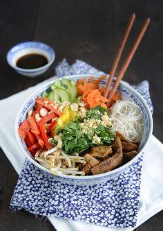 BoBun (Vegan) Raw Food Recipes, Veggie Recipes, Asian Recipes, Vegetarian Recipes, Cooking Recipes, Healthy Recipes, Healthy Cooking, Healthy Snacks, Exotic Food