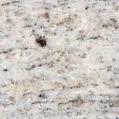Kashmir white granite - Like the shimmer in this granite, would look nice with white cabinets, and the brown in it would look good with a farm house wood table and chairs. Kashmir White Granite, White Granite Colors, White Granite Countertops, Outdoor Kitchen Countertops, Brown Granite, Kitchen Countertop Materials, Country Countertops, Formica Countertops, Granite Kitchen