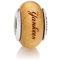 New York Yankees Pandora Women's Wood Charm - $64.99