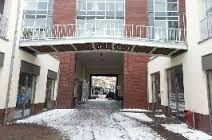 Brug bij appartementen complex in Boxtel. Op maat gemaakt door Geffen Products B.V.
