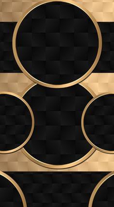 Cellphone Wallpaper, Phone Wallpapers, Black Wallpaper, Hd Wallpaper, Smartphone, Designer Wallpaper, Metal Working, Circles, Cool Designs