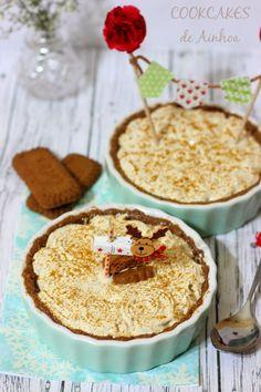 Cookcakes de Ainhoa: TARTALETAS DE SPECULOOS Y MERENGUE DE CARAMELO