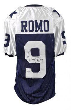 cf4a2551472 Tony Romo Signed Jersey - JSA #SportsMemorabilia #DallasCowboys Tony Romo,  Dallas Cowboys Football