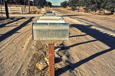 Mail boxes by PhilippeC., via Flickr