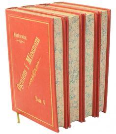 H. Sienkiewicz Ogniem i mieczem First edition Warszawa 1884, Drukiem Władysława Szulca i S-ki