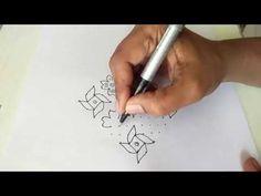 How to draw 15-1 ner pulli kolam - Dr.N.V.S.Sree Rathna Lakshmi