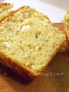 Μαγειρική και Τέχνη... ή η Τέχνη της Μαγειρικής Feta, Banana Bread, Herbs, Cheese, Baking, Savoury Pies, Cake, Desserts, Recipes