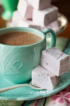 Something to spiff up your hot cocoa!  Blackberry Marshmallow (No Corn Syrup)