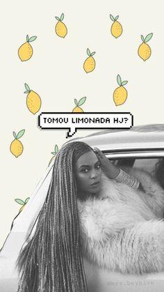 Lockscreen Beyonce Lemonade