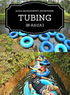 TUBING IN KAUA'I