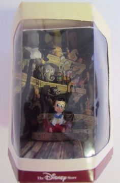 Disney Tiny Kindom Pinocchio Miniature Figurine 1940's RARE NIB #Disney